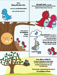 adoption bird comic